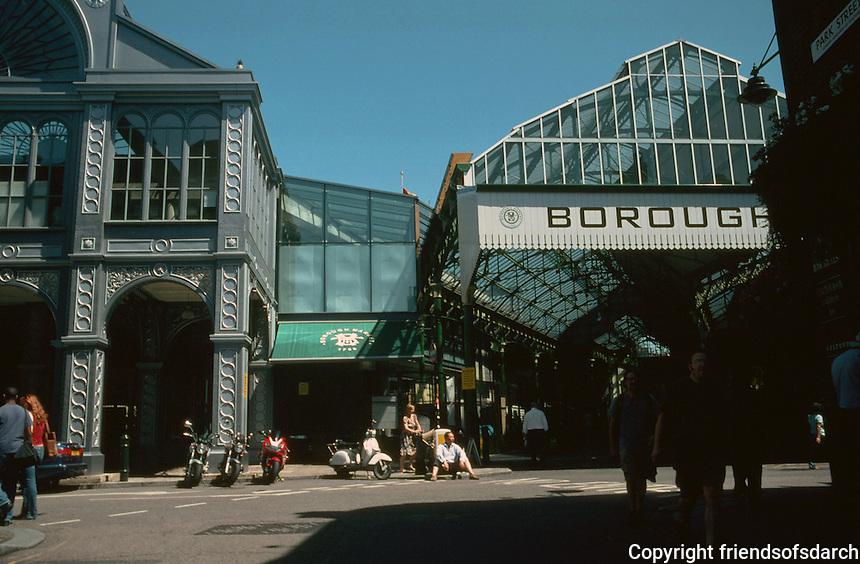 London:  Borough Market, Southwark.  Photo 2005.