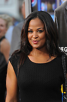 Laila Ali, daughter of Muhammed Ali, at the Los Angeles premiere of &quot;Draft Day&quot; at the Regency Village Theatre, Westwood.<br /> April 7, 2014  Los Angeles, CA<br /> Picture: Paul Smith / Featureflash