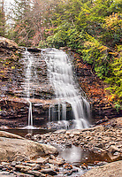 Muddy Branch Falls gerrett County Scenic Western Maryland