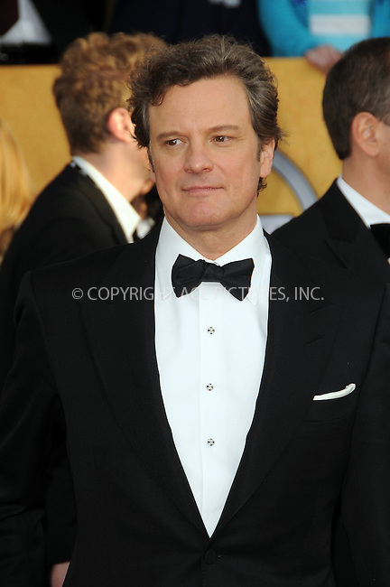 WWW.ACEPIXS.COM . . . . . ....January 30 2011, Los Angeles....Colin Firth arriving at the 17th Annual Screen Actors Guild Awards held at The Shrine Auditorium on January 30, 2011 in Los Angeles, CA....Please byline: PETER WEST - ACEPIXS.COM....Ace Pictures, Inc:  ..(212) 243-8787 or (646) 679 0430..e-mail: picturedesk@acepixs.com..web: http://www.acepixs.com