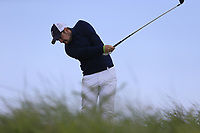 Eoin Leonard (Killiney) during the 1st round of the East of Ireland championship, Co Louth Golf Club, Baltray, Co Louth, Ireland. 02/06/2017<br /> Picture: Golffile | Fran Caffrey<br /> <br /> <br /> All photo usage must carry mandatory copyright credit (&copy; Golffile | Fran Caffrey)