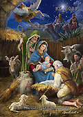 Interlitho, HOLY FAMILIES, HEILIGE FAMILIE, SAGRADA FAMÍLIA, paintings+++++,holy family, angel,kings,KL6089,#XR# ,Marcello
