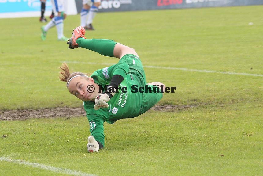 Meike Kämper (MSV) geschlagen - 1. FFC Frankfurt vs. MSV Duisburg