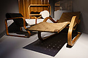 "London, UK. 09.10.2018. The exhibition, ""Modern Couples"" opens in the Art Gallery at the Barbican Centre. Picture shows: Furniture design by Aino/Alvar Aalto. Photograph © Jane Hobson."