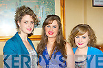 Sisters Maria, Catherine and Lauren Kerin Scartaglen at the Rose of Con's in the River Island Hotel on Friday night..