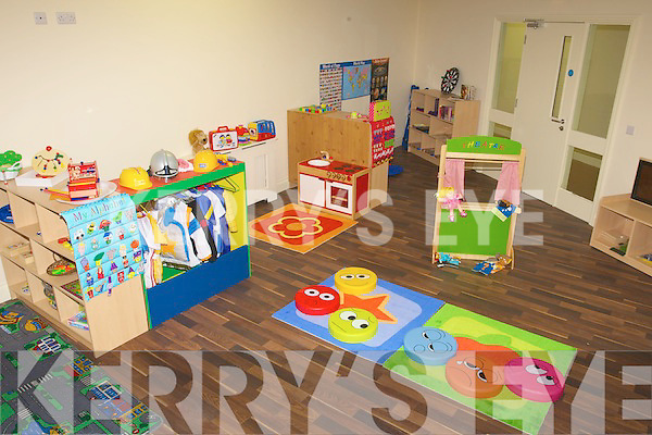 One of the playingh room for the children who will be at pre school in the Cahereen Heights Childcare facility, Castleisland. .