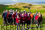 Good Links<br /> ---------------<br /> Pictured at the Captains Drive in, for the New year at Ballybunion golf club last Sunday morning were L-R Eileen Kenny-Ryan, Lady Cpt, Milie Costello Club Cpt and Ballybunion golf president Dan O'Sullivan.