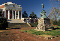 AJ2579, Charlottesville, university, Virgina, college, University of Virginia campus founded by Thomas Jefferson in Charlottesville in the state of Virginia.