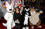 "HOLLYWOOD, CA. - November 17: Executive Producer John Lasseter and family arrives at the World Premiere of Walt Disney's ""Bolt"" at the El Capitan Theatre on November 17, 2008 in Hollywood, California..."