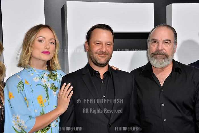 """LOS ANGELES, CA. September 13, 2018: Olivia Wilde, Dan Fogelman, Mandy Patinkin at the premiere for """"Life Itself"""" at the Cinerama Dome.<br /> Picture: Paul Smith/Featureflash"""