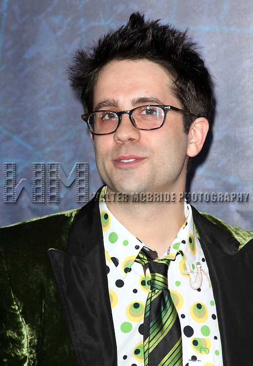Chase Brock.attending the Opening Night Performance of 'Spider-Man Turn Off The Dark' at the Foxwoods Theatre in New York City.