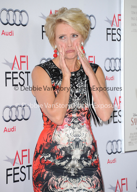 Hollywood, CA - NOVEMBER 07: Emma Thompson arrives at     The 2013 AFI Opening Night Gala - Disney's Saving Mr. Banks Screening held at TCL Chinese Theatre in Hollywood, California on November 07,2012                                                                               © 2013 Hollywood Press Agency