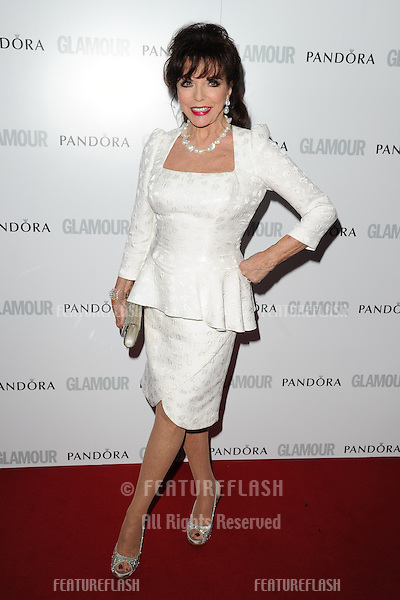 Joan Collins arriving for the 013 Glamour Women of The Year Awards, Berkeley Square, London. 04/06/2013 Picture by: Steve Vas / Featureflash