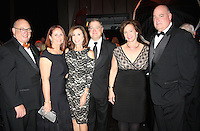 NWA Democrat-Gazette/CARIN SCHOPPMEYER Les and Mina Baledge (from left), Lisa and Jeff Gearhart and Mary Beth and Tim Brooks attend the Walton Arts Center gala.
