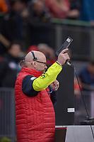 SPEEDSKATING: HAMAR: Vikingskipet, 28-02-2020, ISU World Speed Skating Championships,  Sprint, 500m Men, Ole Hermann Sørli (ISU Starter), ©photo Martin de Jong