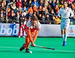 ROTTERDAM - Bob de Voogd (NED)  tijdens   de Pro League hockeywedstrijd heren, Nederland-Spanje (4-0) . COPYRIGHT KOEN SUYK