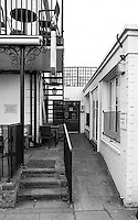 """Chiswick. Greater London. Side Entrance to the Public House, """"The Ship"""" - Chiswick Mall and embankment  Leading from Chiswick to Fulham Reach RC. Sunday.  24.07.2016  [Mandatory Credit: Peter Spurrier/Intersport-images.com]"""