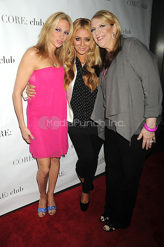 Deborah Gibson, Aubrey O'Day and Lisa Lampanelli  at the 'Celebrity Apprentice' Panel Discussion at The Core Club on May 22, 2012 in New York City.. Credit: Dennis Van Tine/MediaPunch