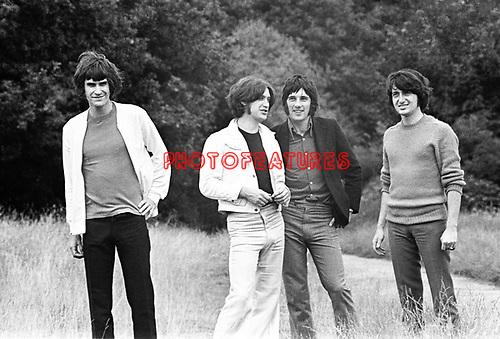 The Kinks 1968 Ray Davies, Dave Davies, Mick Avory and Pete Quaife.© Chris Walter.