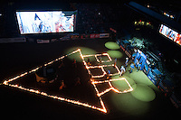 Arena during the second round of PBR Blue Def Tour event in Wheeling, WV - 3.18.2016. Photo by Christopher Thompson