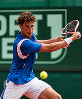 14-07-13, Netherlands, Scheveningen,  Mets, Tennis, Sport1 Open, day seven final, Robin Haase (NED) <br /> Photo: Henk Koster
