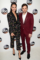 PASADENA, CA - JANUARY 8: Amber Stevens West, Andrew J. West at Disney ABC Television Group's TCA Winter Press Tour 2018 at the Langham Hotel in Pasadena, California on January 8, 2018. <br /> CAP/MPI/DE<br /> &copy;DE/MPI/Capital Pictures
