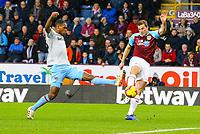 Burnley's Chris Wood scores the opening goal<br /> <br /> Photographer Alex Dodd/CameraSport<br /> <br /> The Premier League - Burnley v West Ham United - Sunday 30th December 2018 - Turf Moor - Burnley<br /> <br /> World Copyright © 2018 CameraSport. All rights reserved. 43 Linden Ave. Countesthorpe. Leicester. England. LE8 5PG - Tel: +44 (0) 116 277 4147 - admin@camerasport.com - www.camerasport.com