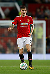 Victor Lindelof of Manchester United during the Carabao Cup Third Round match at the Old Trafford Stadium, Manchester. Picture date 20th September 2017. Picture credit should read: Simon Bellis/Sportimage