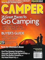 Camper Magazine Cover<br /> Photo &copy; Cheyenne L Rouse