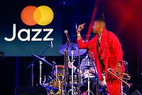SÃO PAULO, SP 31.08.2019: FESTIVAL JAZZ-SP - XXXXX no palco do festival Mastercard Jazz, que aconteceu na tarde deste sábado (31), na platéia externa do Auditório Ibirapuera, na zona sul da capital paulista. (Foto: Ale Frata/Código19)