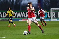 Jack Sowerby of Fleetwood Town during the Sky Bet League 1 match between Oxford United and Fleetwood Town at the Kassam Stadium, Oxford, England on 10 April 2018. Photo by David Horn.