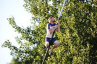 FIERLJEPPEN: IT HEIDENSKIP: 17-06-2017, winnaar heren senioren Age Hulder, ©foto Martin de Jong