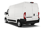 Car pictures of rear three quarter view of a 2018 Peugeot Boxer Pro 3 Door Cargo Van angular rear