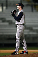 February 20, 2009:  Pitcher Phil Haig (15) of the University of Illinois during the Big East-Big Ten Challenge at Jack Russell Stadium in Clearwater, FL.  Photo by:  Mike Janes/Four Seam Images