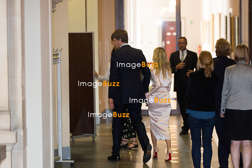 Mariage civil du Prince Ernst junior de Hanovre et de Ekaterina Malysheva, &agrave; l' h&ocirc;tel de ville de Hanovre.<br /> Allemagne, Hanovre, 6 juillet 2017.<br /> Civil wedding of Prince Ernst Junior of Hanover and Ekaterina Malysheva at the new Town Hall in Hanover.<br /> Germany, Hannover, 6 july 2017