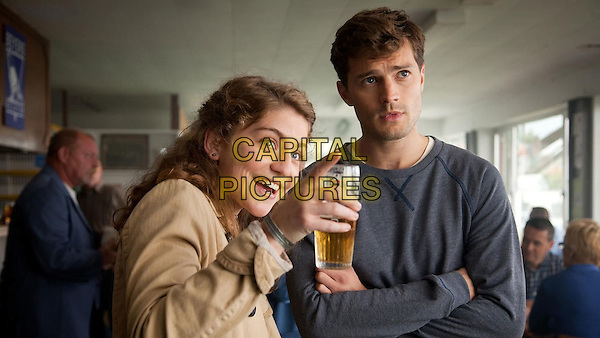 Charlotte De Bruyne, Jamie Dornan<br /> in Flying Home (2014) <br /> *Filmstill - Editorial Use Only*<br /> CAP/NFS<br /> Image supplied by Capital Pictures
