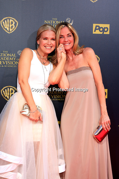 BURBANK - APR 26: Melissa Reeves, Kassie DePaiva at the 42nd Daytime Emmy Awards Gala at Warner Bros. Studio on April 26, 2015 in Burbank, California