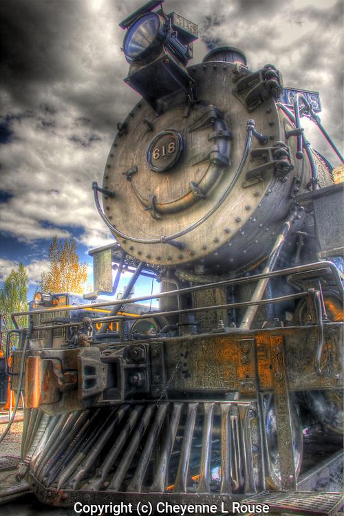 "Historic Heber Railroad - ""The Heber Creeper"" - Heber City, Utah"
