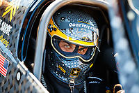 Mar 19, 2017; Gainesville , FL, USA; NHRA top fuel driver Tony Schumacher during the Gatornationals at Gainesville Raceway. Mandatory Credit: Mark J. Rebilas-USA TODAY Sports