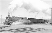 #484 with San Juan at Alamosa.<br /> D&amp;RGW  Alamosa, CO  Taken by Richardson, Robert W. - 3/1950