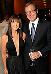 Janet Gurwitch and Ron Franklin at the Dancing with the Houston Stars event benefitting the Houston Ballet at the home of John and Becca Thrash  Friday Sept. 24, 2010. (Dave Rossman/For the Chronicle)