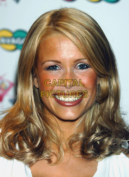 MELINDA MESSENGER.Launches AVAGO .TV gameshow  for Sky TV,.London, 8th August 2002..portrait headshot.Ref: PL.www.capitalpictures.com.sales@capitalpictures.com.©Capital Pictures.