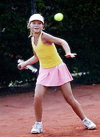 12-8-06,Den Haag, Tennis Nationale Jeugdkampioenschappen, winnaar meisjes 12 jaar, Gabriela de Graaf