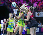 29/10/17 Fast5 2017<br /> Fast 5 Netball World Series<br /> Hisense Arena Melbourne<br /> Australia v New Zealand<br /> <br /> Gretel Tippett<br /> <br /> <br /> <br /> Photo: Grant Treeby