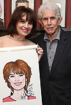 Beth Leavel and Tony Roberts during the Beth Leavel Portrait unveiling at Sardi's on 3/26/2019 in New York City.