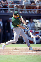 Oakland Athletics Mark McGwire during the Major League Baseball All-Star Game Home Run Derby at Jack Murphy Stadium  in San Diego, California.  (MJA/Four Seam Images)