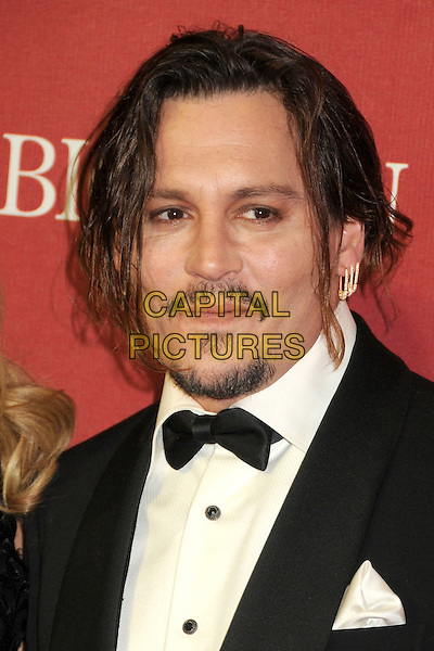 2 January 2016 - Palm Springs, California - Johnny Depp. 27th Annual Palm Springs International Film Festival Awards Gala held at the Palm Springs Convention Center.  <br /> CAP/ADM/BP<br /> &copy;BP/ADM/Capital Pictures