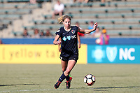 Cary, North Carolina  - Saturday August 19, 2017: McCall Zerboni during a regular season National Women's Soccer League (NWSL) match between the North Carolina Courage and the Washington Spirit at Sahlen's Stadium at WakeMed Soccer Park. North Carolina won the game 2-0.