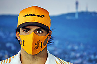 16th July 2020, Hungaroring, Budapest, Hungary; F1 Grand Prix of Hungary, drivers arrival and track inspection day;  55 CarlSainz ESP, McLaren F1 Team