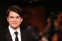 "EMILE HIRSCH.Red carpet arrivals for the film ""Into The Wild"" during the 2nd Annual Rome Film Festival, Rome, Italy..Red carpet arrivals for the film ""Into The Wild"" .October 24th, 2007.headshot portrait .CAP/CAV.©Luca Cavallari/Capital Pictures."